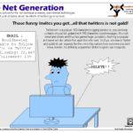 The Net Generation Cartoon