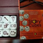 [ONE CREATIVE ACT A DAY] Story Cube 23 May 2017