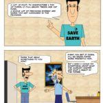 Creating a web comic using only the drawing tools in Microsoft Powerpoint - [Cartooning] Paper Recycling