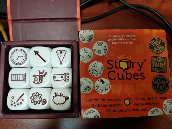[DA VINCI PAUSE] Story Cube 23 May 2017